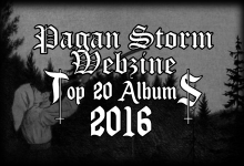 Top 2016 Redazione Pagan Storm Webzine
