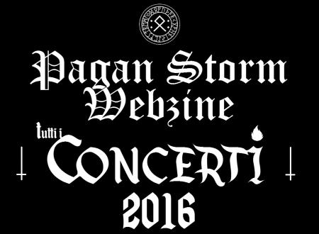 Tutti i Concerti 2016