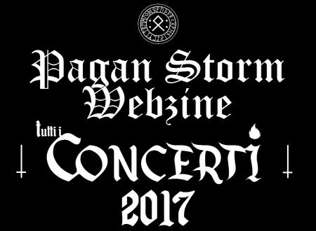 Tutti i Concerti 2017