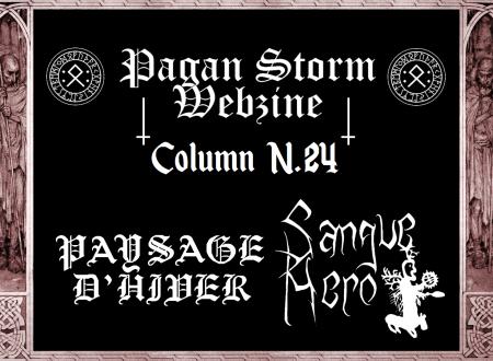 Column N.24 – Paysage D'Hiver & Sangue Nero (2017)