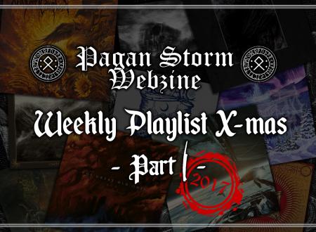 Weekly Playlist X-Mas – Part I (2017)