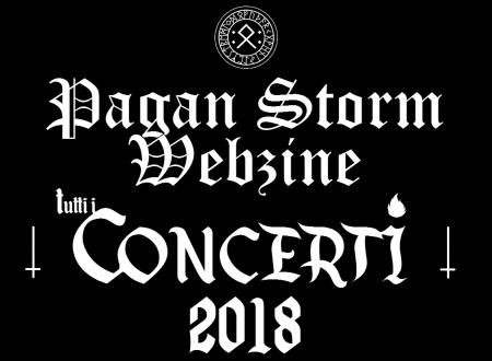 Tutti i Concerti 2018