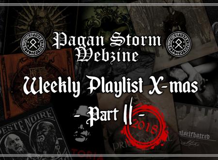 Weekly Playlist X-Mas – Part II (2018)
