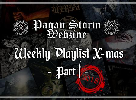 Weekly Playlist X-Mas – Part I (2018)
