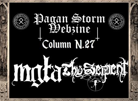 Column N.27 – Mgła & Thy Serpent (2019)